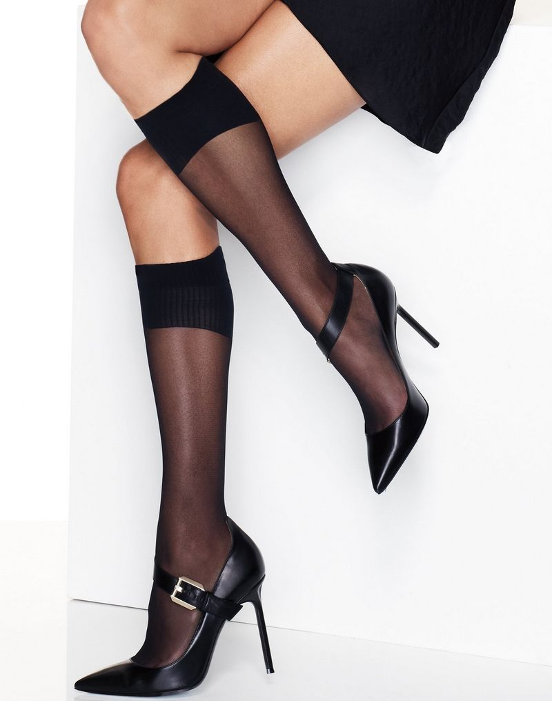 Hanes Perfect X-Temp® Sheer Knee Socks 2-Pack women Hanes