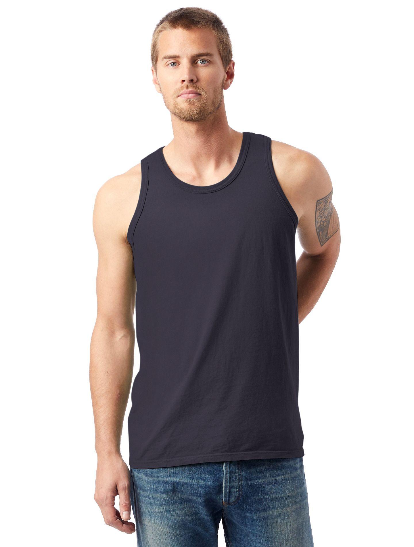Hanes Men's ComfortWash™ Garment Dyed Sleeveless Tank Top men Hanes