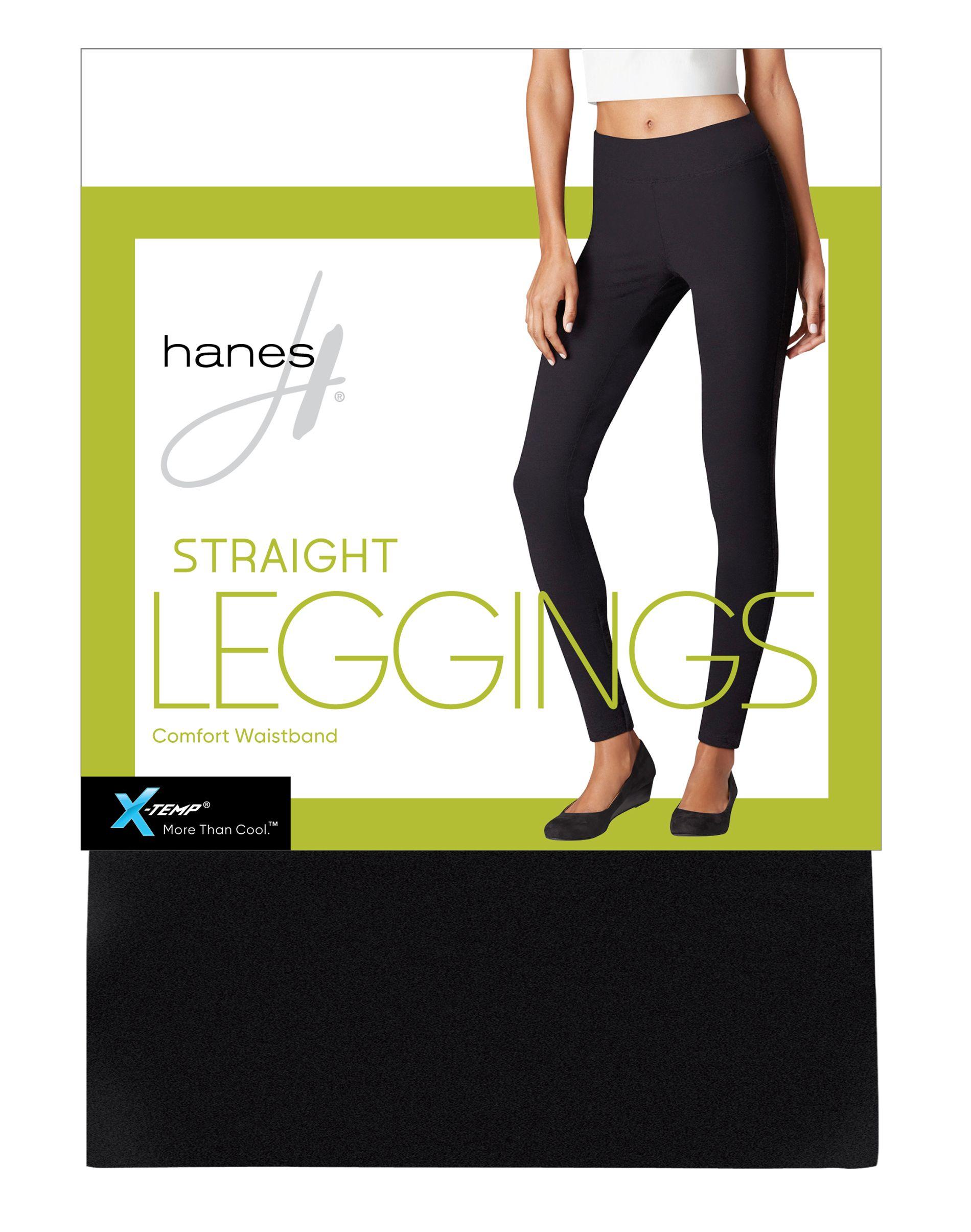 hanes straight leggings women Hanes