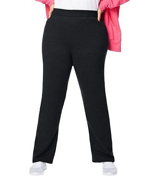 Just My Size ComfortSoft® EcoSmart® Fleece Open-Hem Women's Sweatpants, Average Length women Just My Size