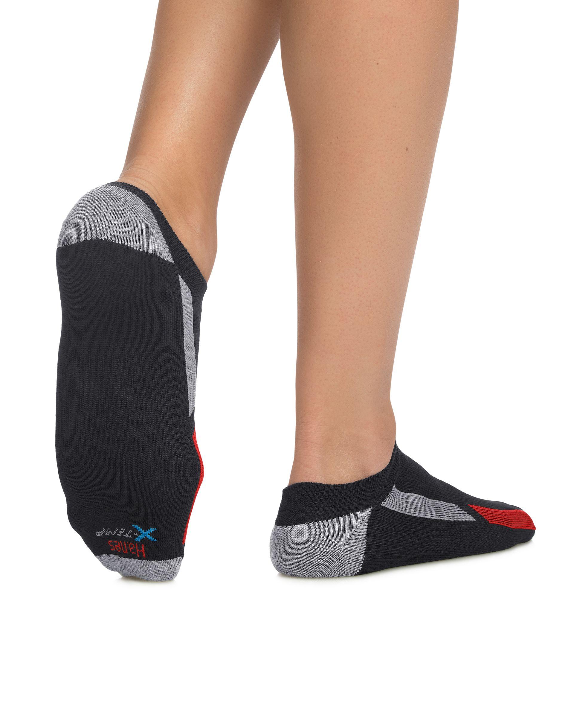 Hanes Men's X-Temp® Arch Support Liner Socks 4-Pack men Hanes