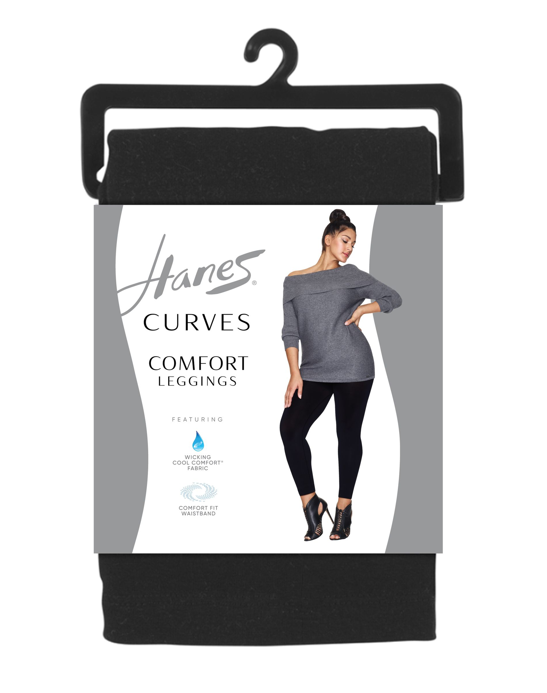 hanes curves comfort leggings women Hanes
