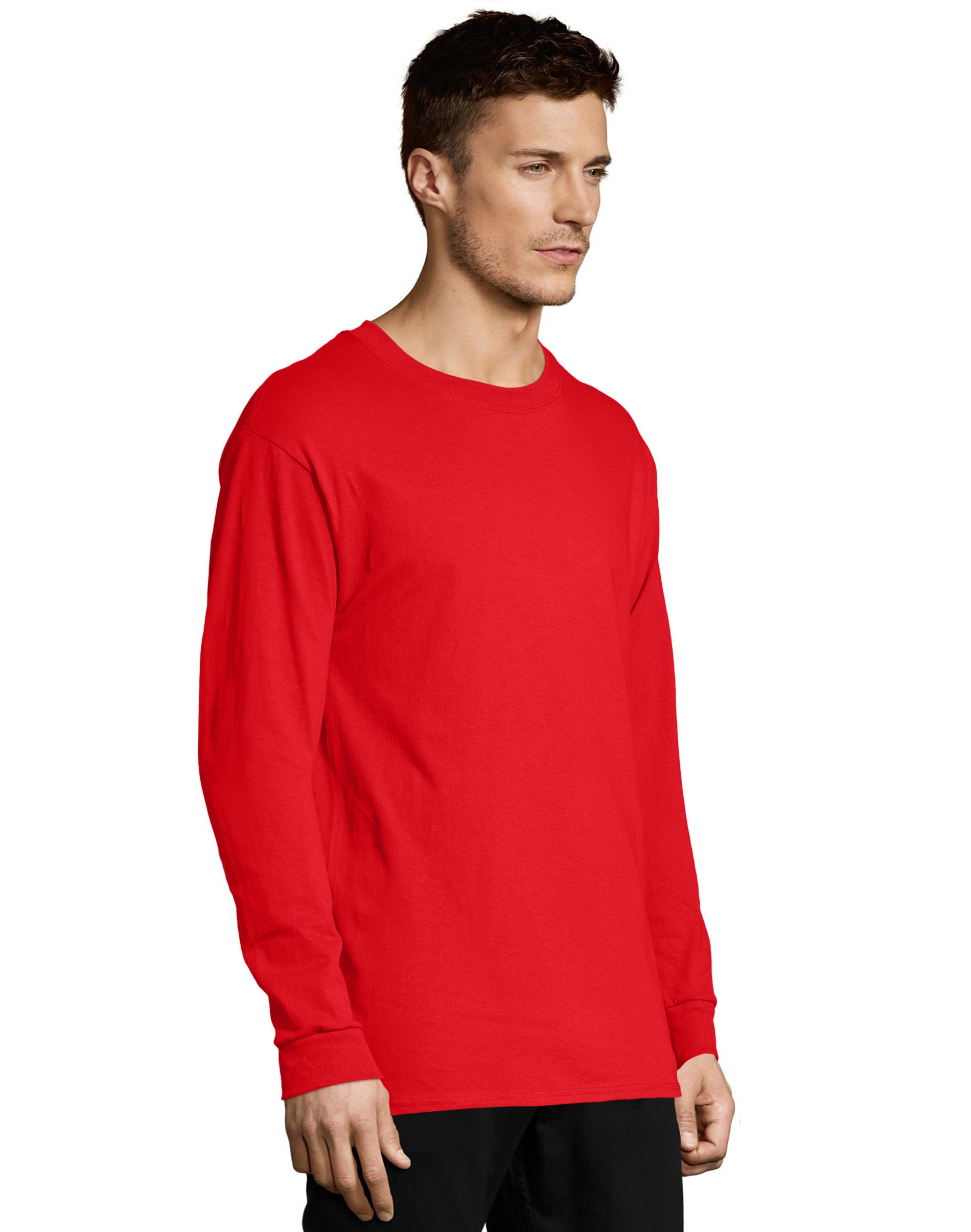 Hanes Men's TAGLESS® Comfortsoft® Long-Sleeve T-Shirt men Hanes