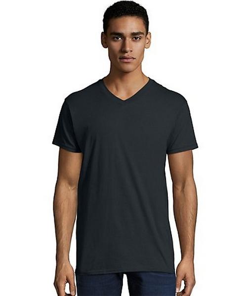 Men's Nano-T V-Neck T-Shirt men Hanes