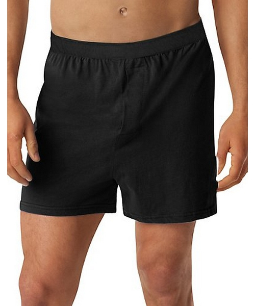 Hanes Men's TAGLESS® Knit Boxers with Comfort Flex® Waistband 3X-5X 3-Pack men Hanes