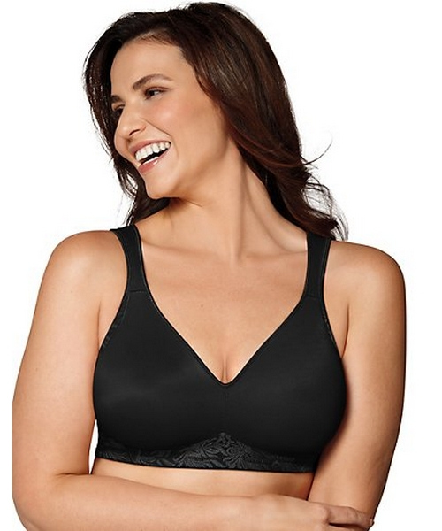 Playtex 18 Hour Back and Side Smoothing Wirefree Bra women Playtex