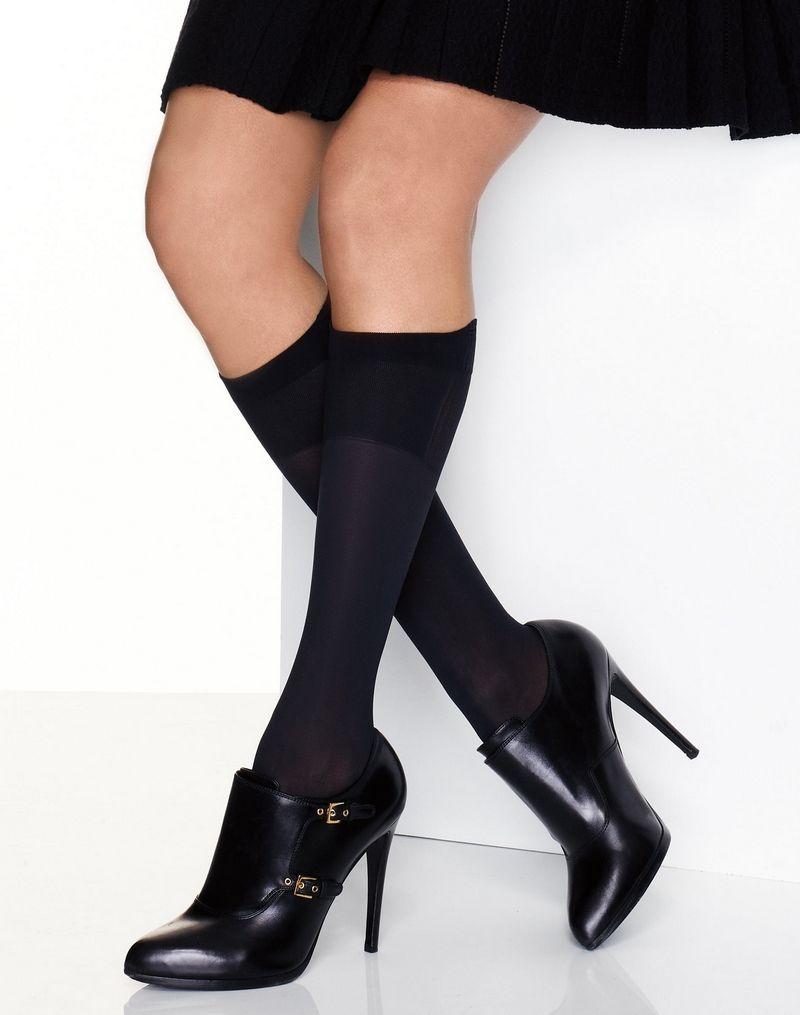 Hanes Perfect X-Temp® Blackout Knee Socks 2-Pack women Hanes