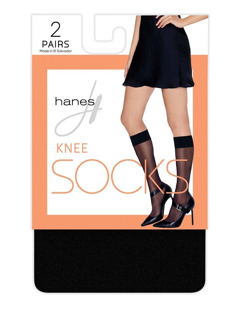 Hanes Knee High Socks, 2-pack women Hanes