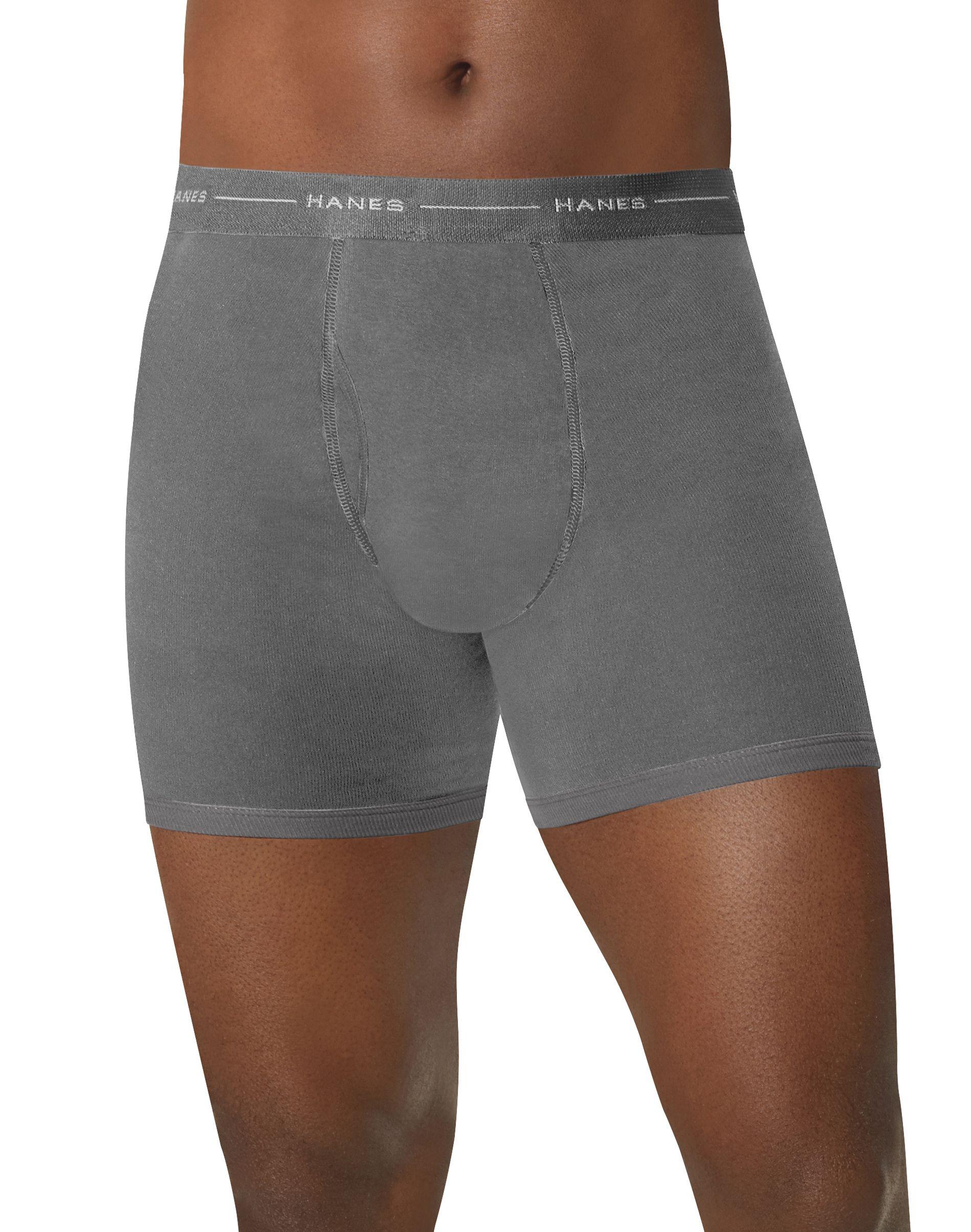 hanes comfortsoft® tagless® men's boxer briefs 5-pack men Hanes
