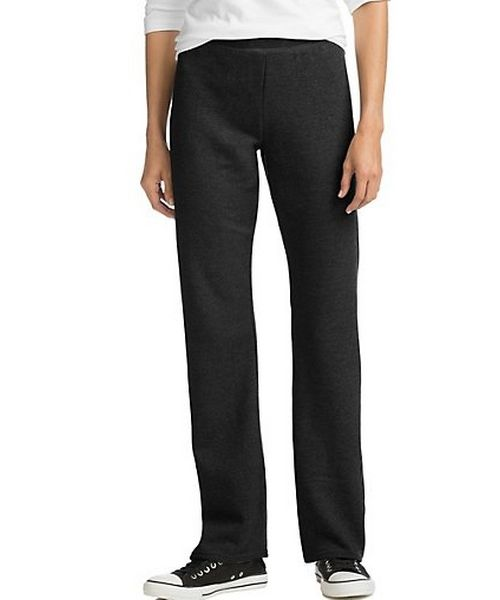 Hanes ComfortSoft™ EcoSmart® Women's Open Leg Fleece Sweatpants women Hanes