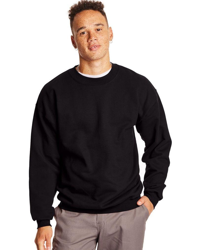 Hanes MenтАЩs Ultimate Cotton® Heavyweight Crewneck Sweatshirt men Hanes