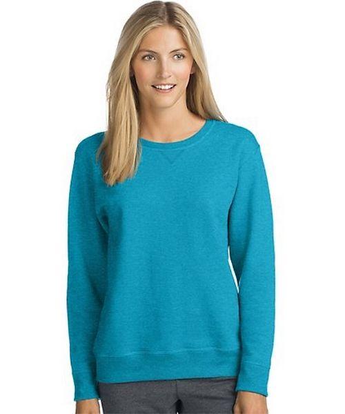 Hanes ComfortSoft™ EcoSmart® Women's Crewneck Sweatshirt women Hanes
