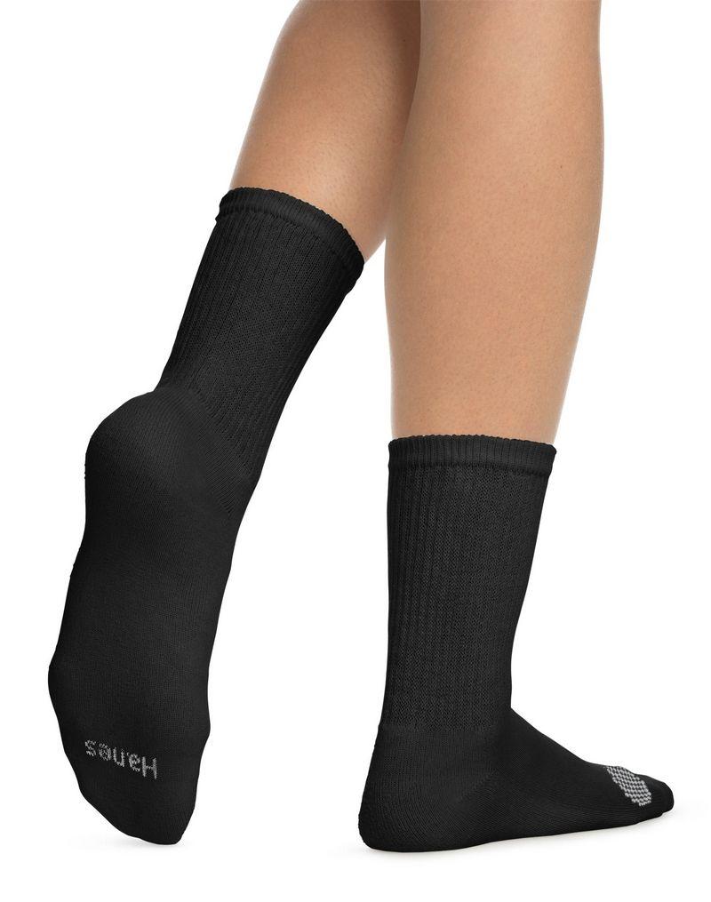 Hanes Women's Cool Comfort® Crew Socks 6-Pack women Hanes