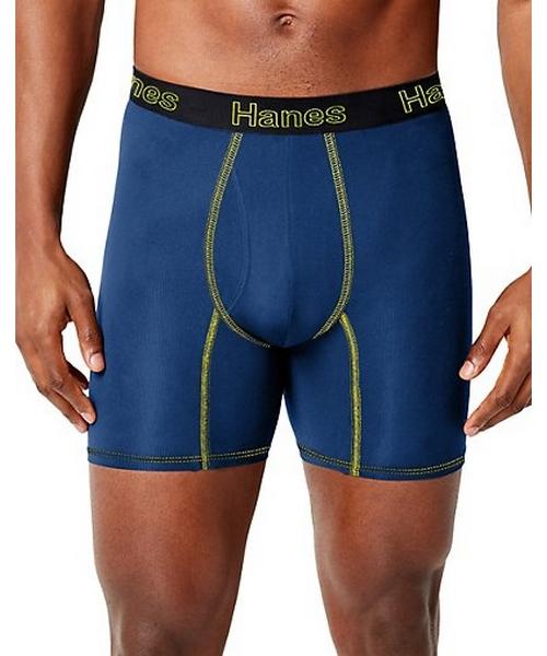 Hanes Men's Comfort Flex Fit® Breathable Mesh Boxer Briefs 3-Pack men Hanes