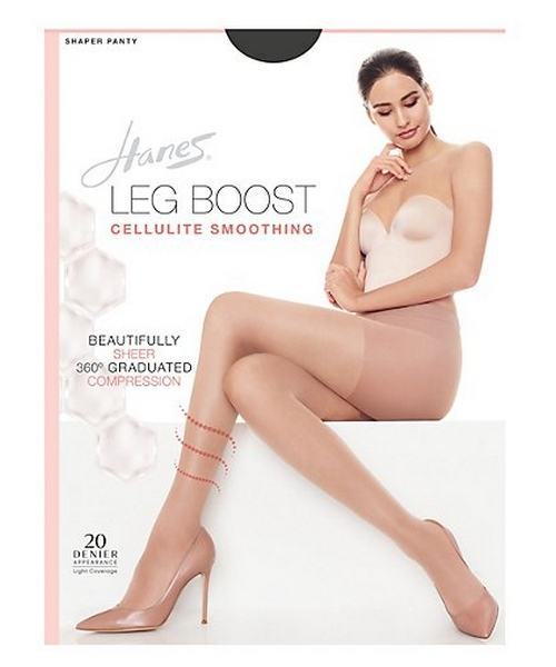Hanes Silk Reflections Leg Boost Cellulite Smoothing Hosiery women Hanes