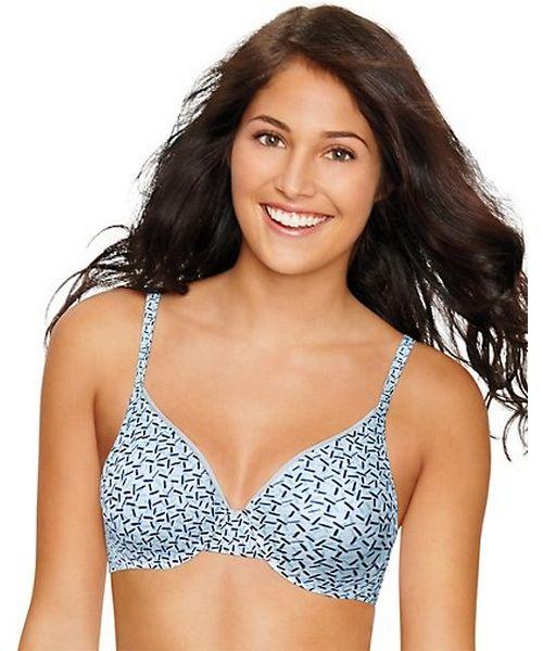 Hanes Ultimate ComfortBlend® T-Shirt Underwire Bra women Hanes