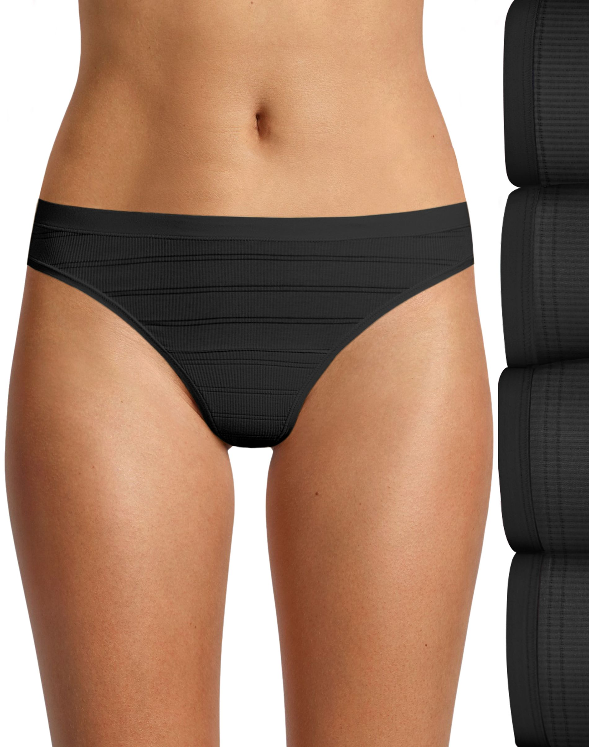 hanes ultimate® women's breathable comfort flex fit® thong 4-pack women Hanes