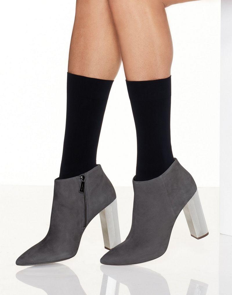 Hanes Perfect X-Temp® Opaque Mid Calf Socks 2-Pack women Hanes