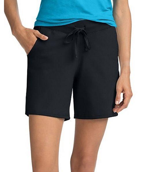 Hanes Women's Jersey Pocket Short women Hanes