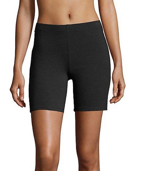 Hanes Women's Stretch Jersey Bike Shorts women Hanes