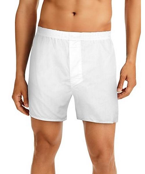 Hanes Men's TAGLESS® Full-Cut Boxer with Comfort Flex® Waistband 4-Pack men Hanes