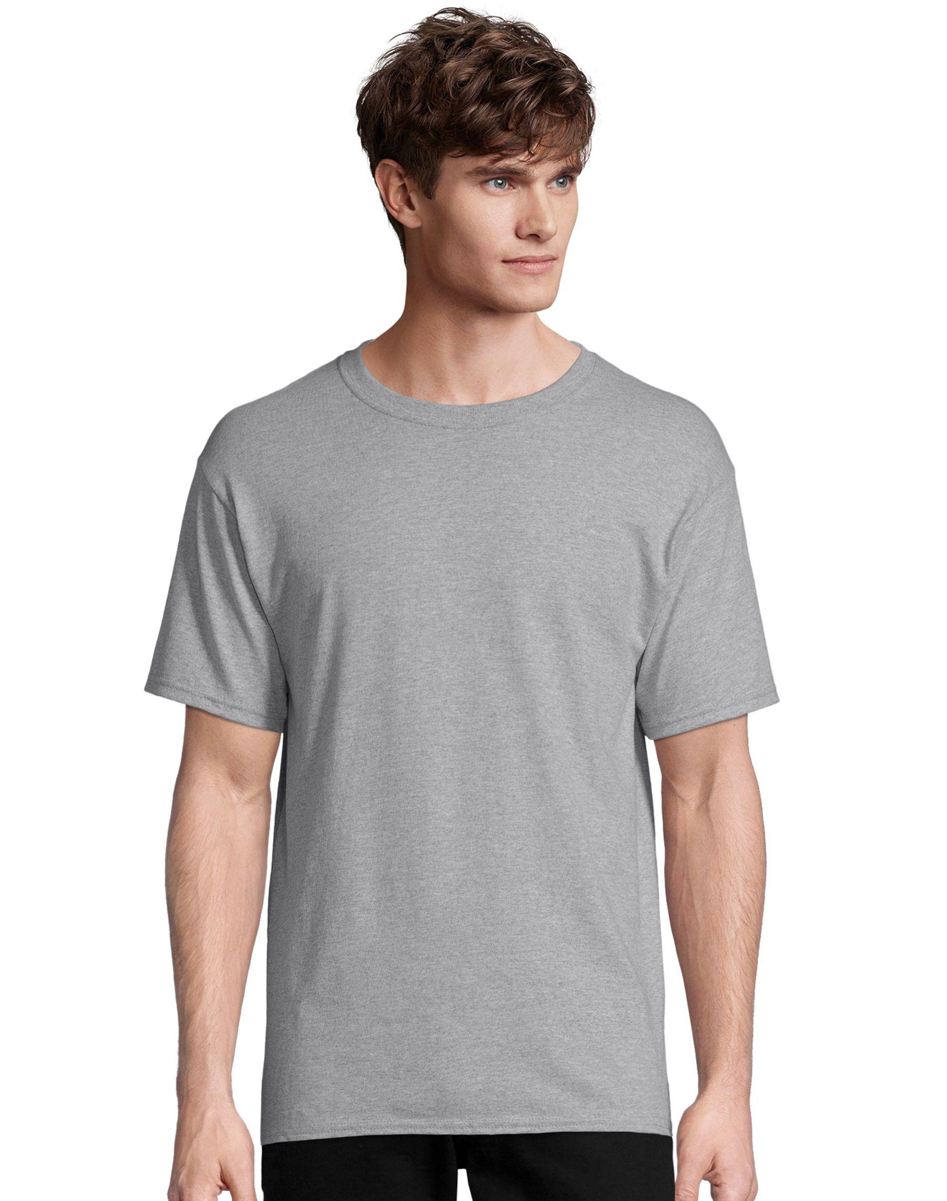 Hanes Men's TAGLESS® ComfortSoft® Crewneck T-Shirt men Hanes