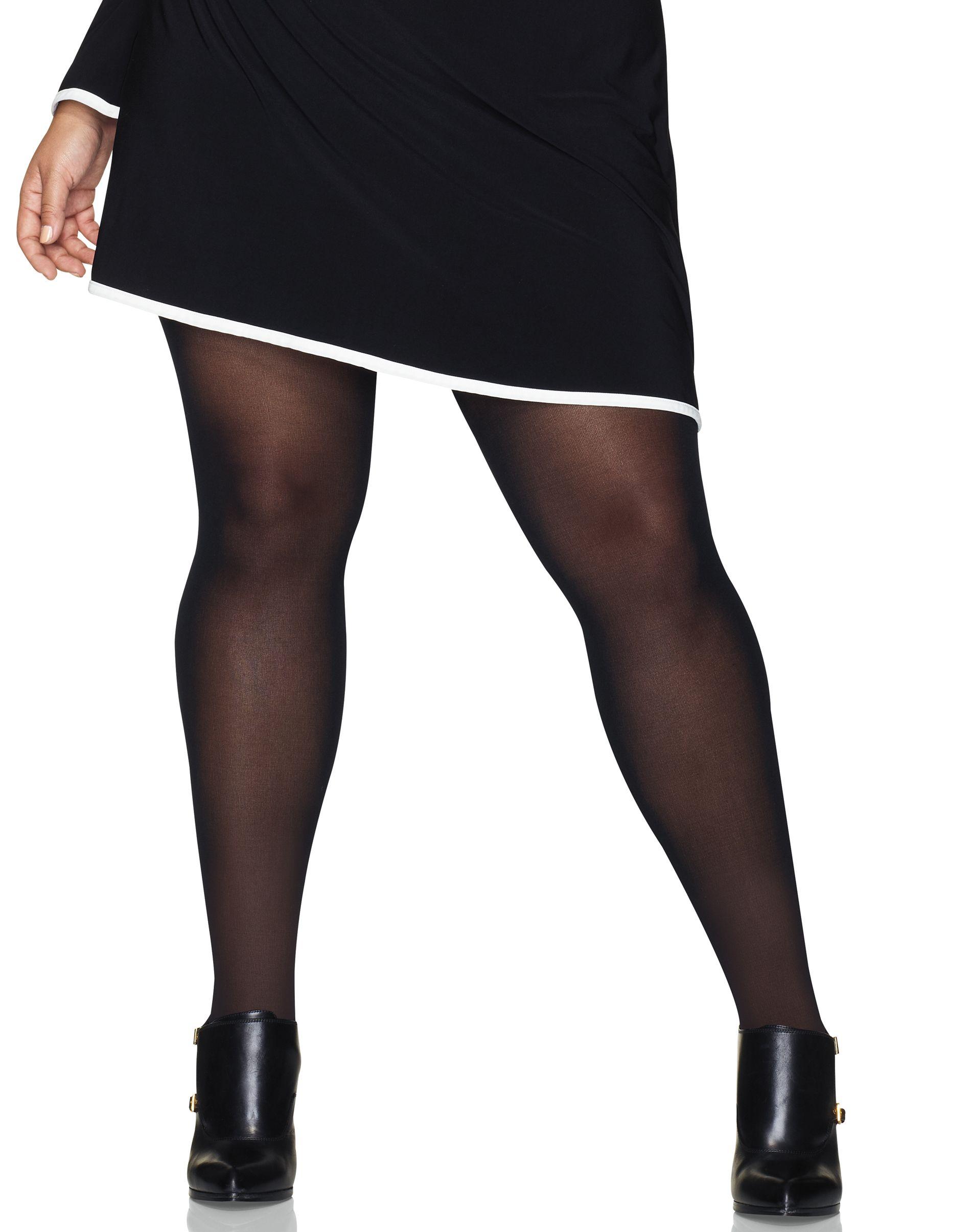 hanes curves control top opaque tights women Hanes