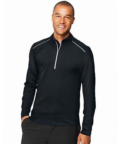 Hanes Sport™ Men's Performance Quarter-Zip Sweatshirt men Hanes