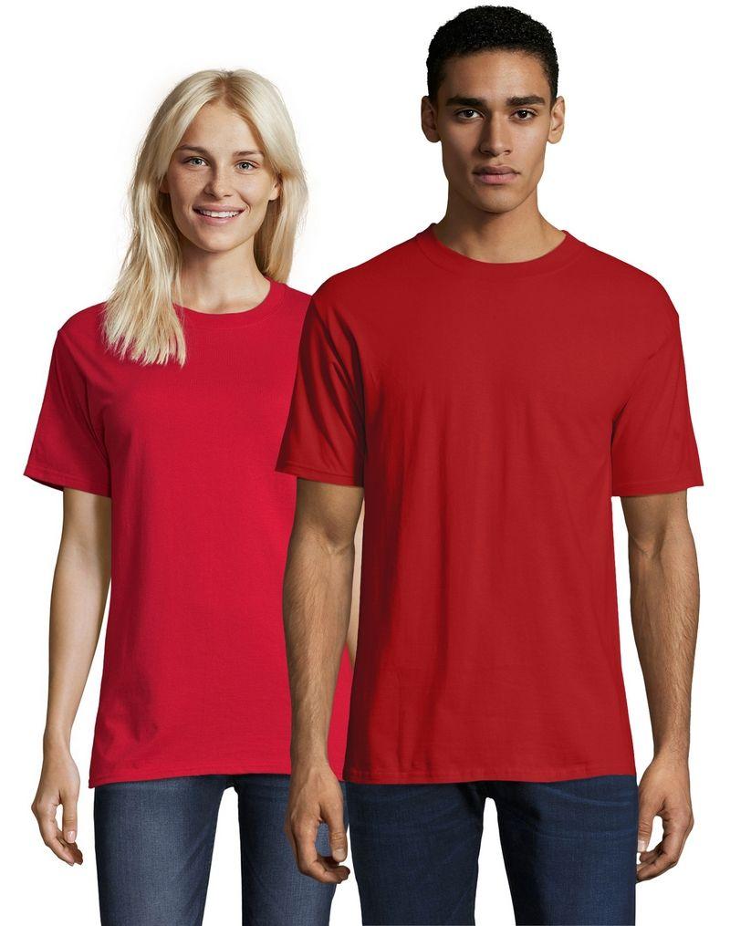 Hanes Beefy-T Adult Short-Sleeve T-Shirt - 5180/518T men Hanes