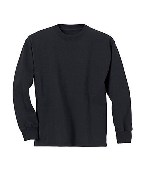 Hanes Youth ComfortSoft® TAGLESS® Long-Sleeve T-Shirt youth Hanes