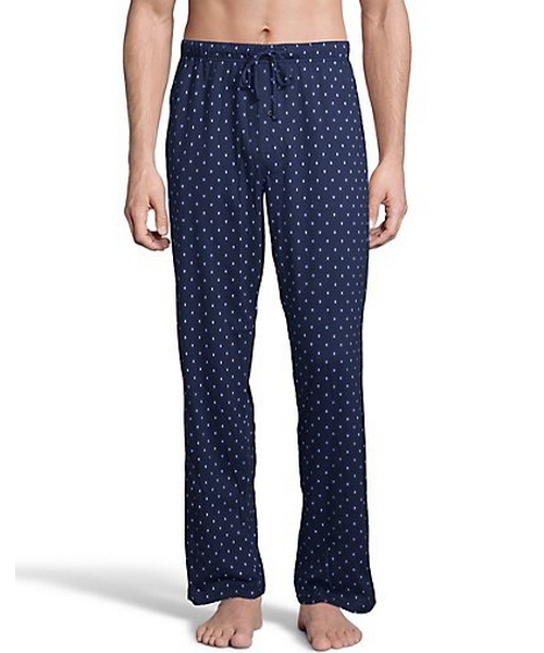 Hanes Men's ComfortSoft® Cotton Printed Lounge Pants men Hanes