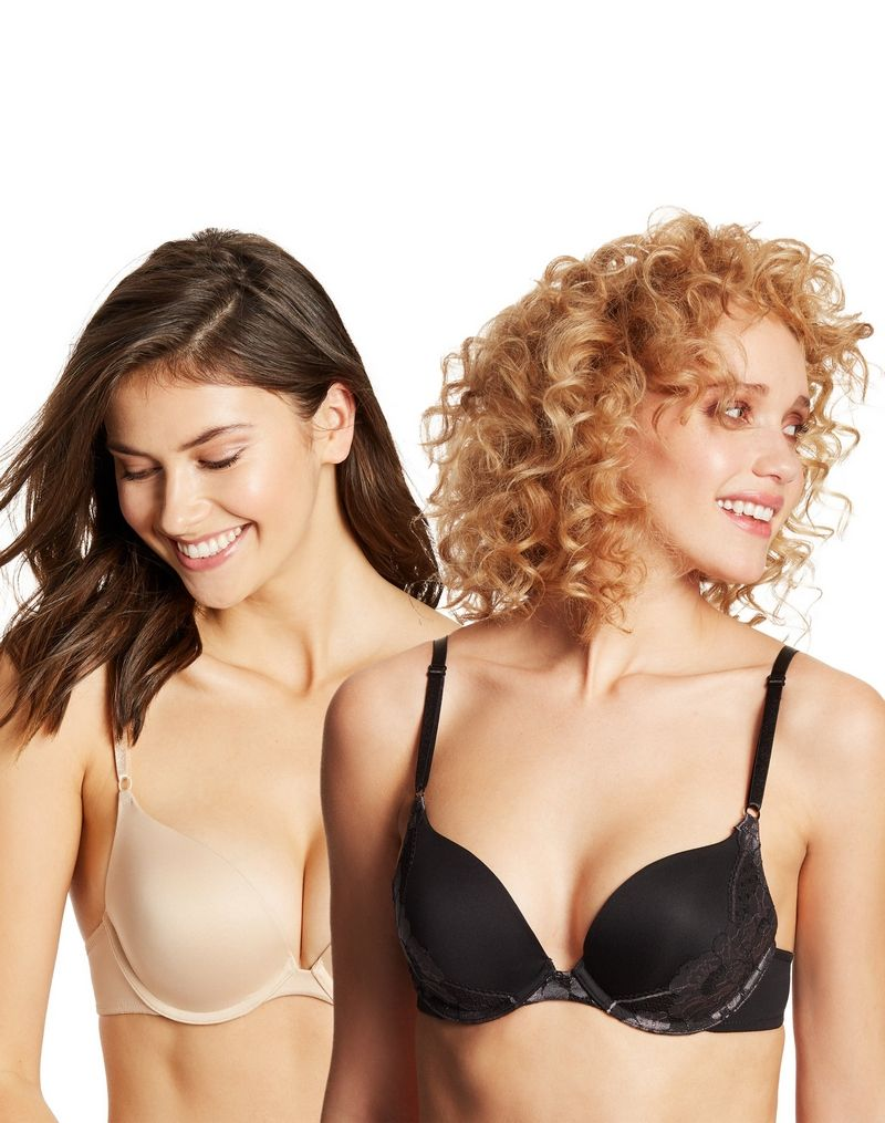 Maidenform One Fab Fit Lace Push Up Bra 2-Pack women Maidenform