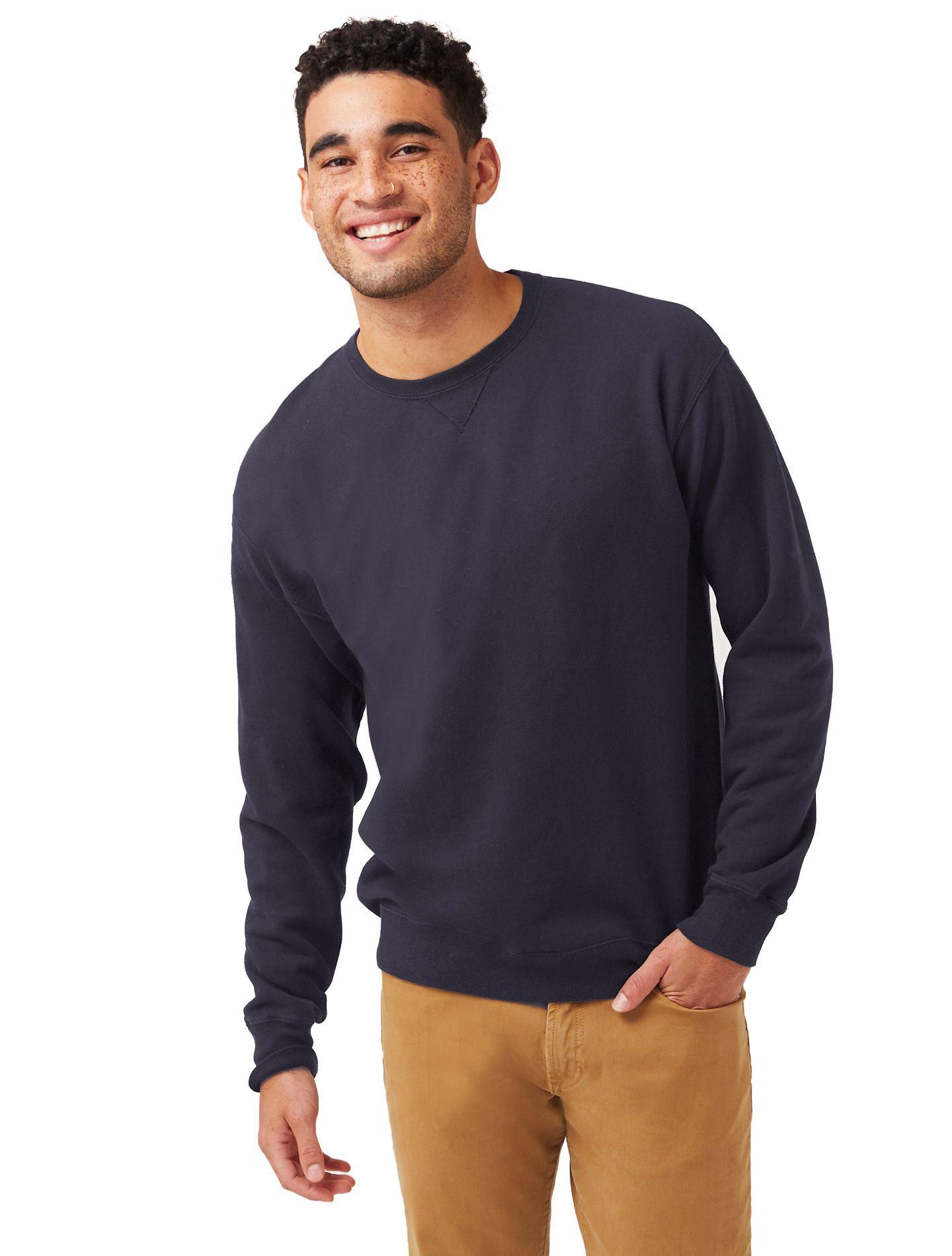 Hanes Men's ComfortWash™ Garment Dyed Fleece Sweatshirt GDH400GRTDYE
