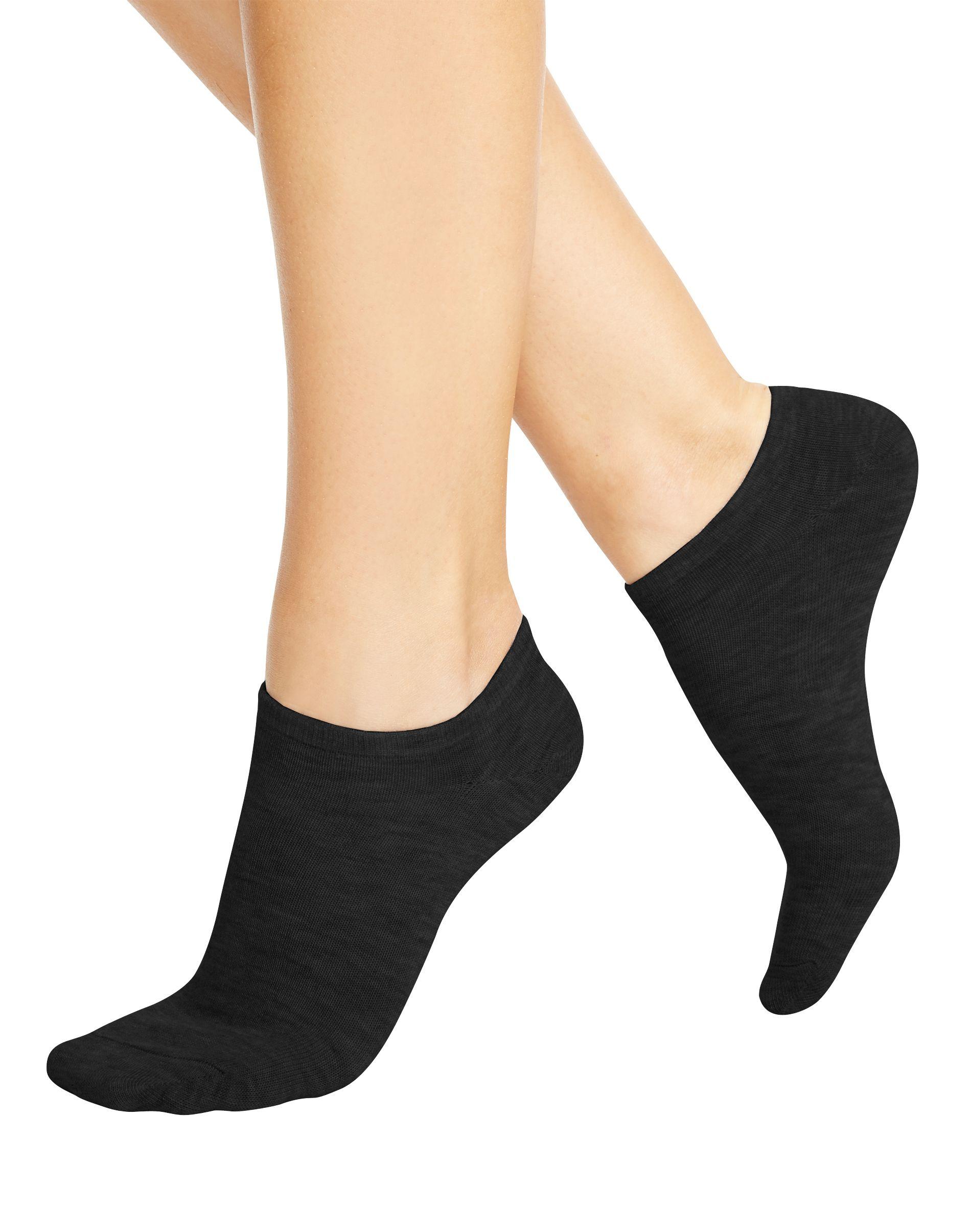 hanes women's cool comfort no show socks 10-pack women Hanes