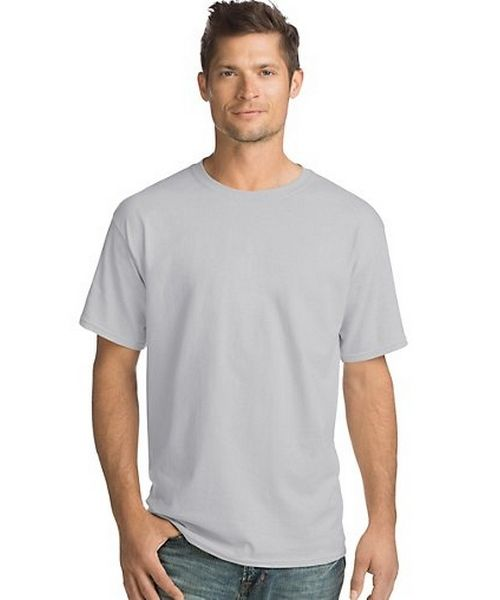 Hanes ComfortSoft® Men's Short-Sleeve Crewneck T-Shirt 4-Pack men Hanes