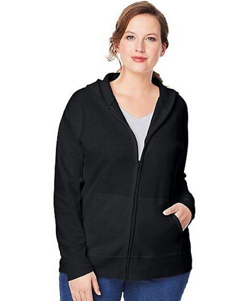 Just My Size ComfortSoft® EcoSmart® Fleece Full-Zip Women's Hoodie women Just My Size
