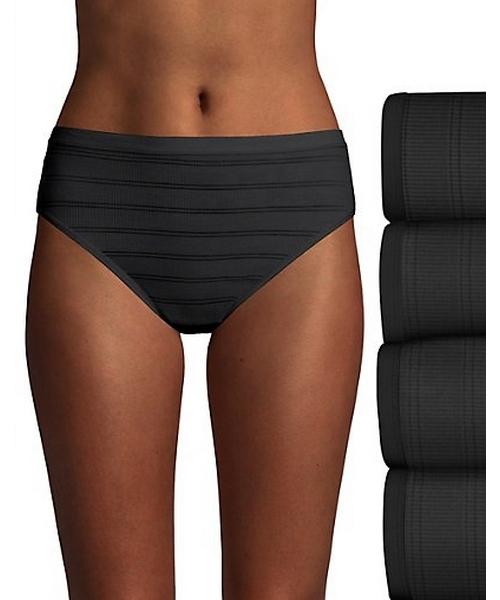 Hanes Ultimate™ Comfort Flex Fit® Hi-Cut 4-Pack women Hanes