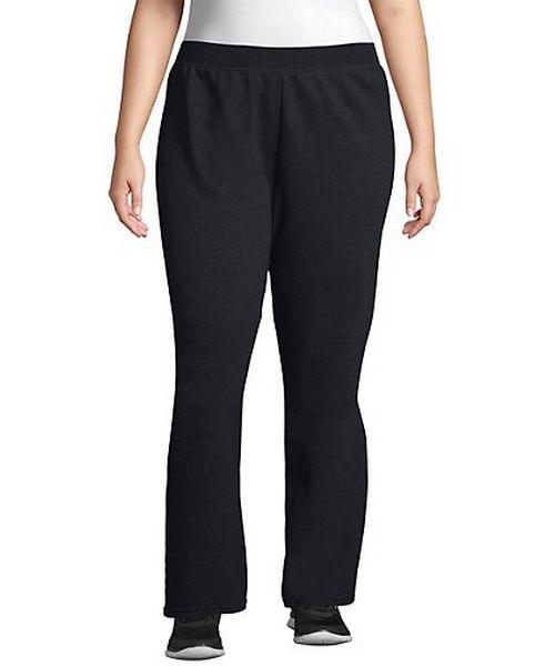 Just My Size ComfortSoft® EcoSmart® Fleece Open-Hem Women's Sweatpants, Petite Length women Just My Size