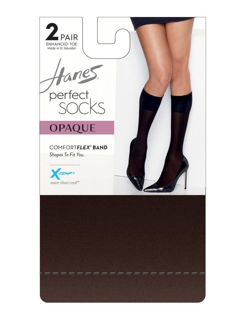 Hanes Perfect Socks Opaque Trouser women Hanes
