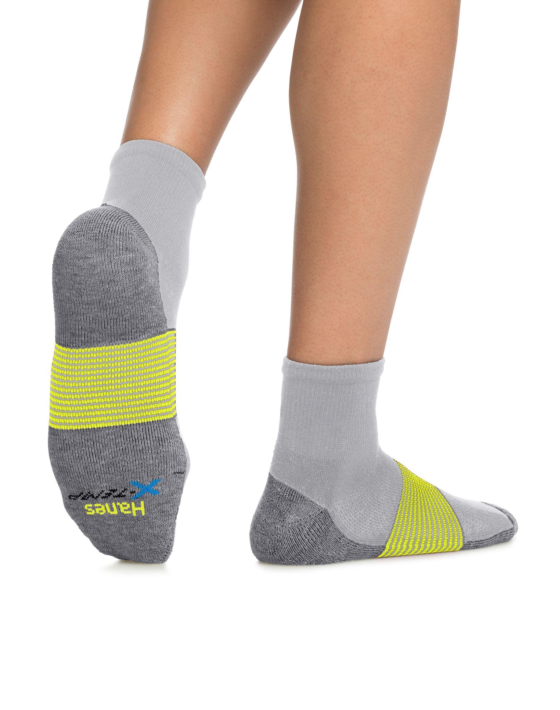 hanes men's x-temp active cool ankle 4-pack men Hanes