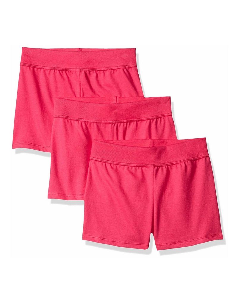 Hanes Girls' Jersey Short 3-Pack youth Hanes