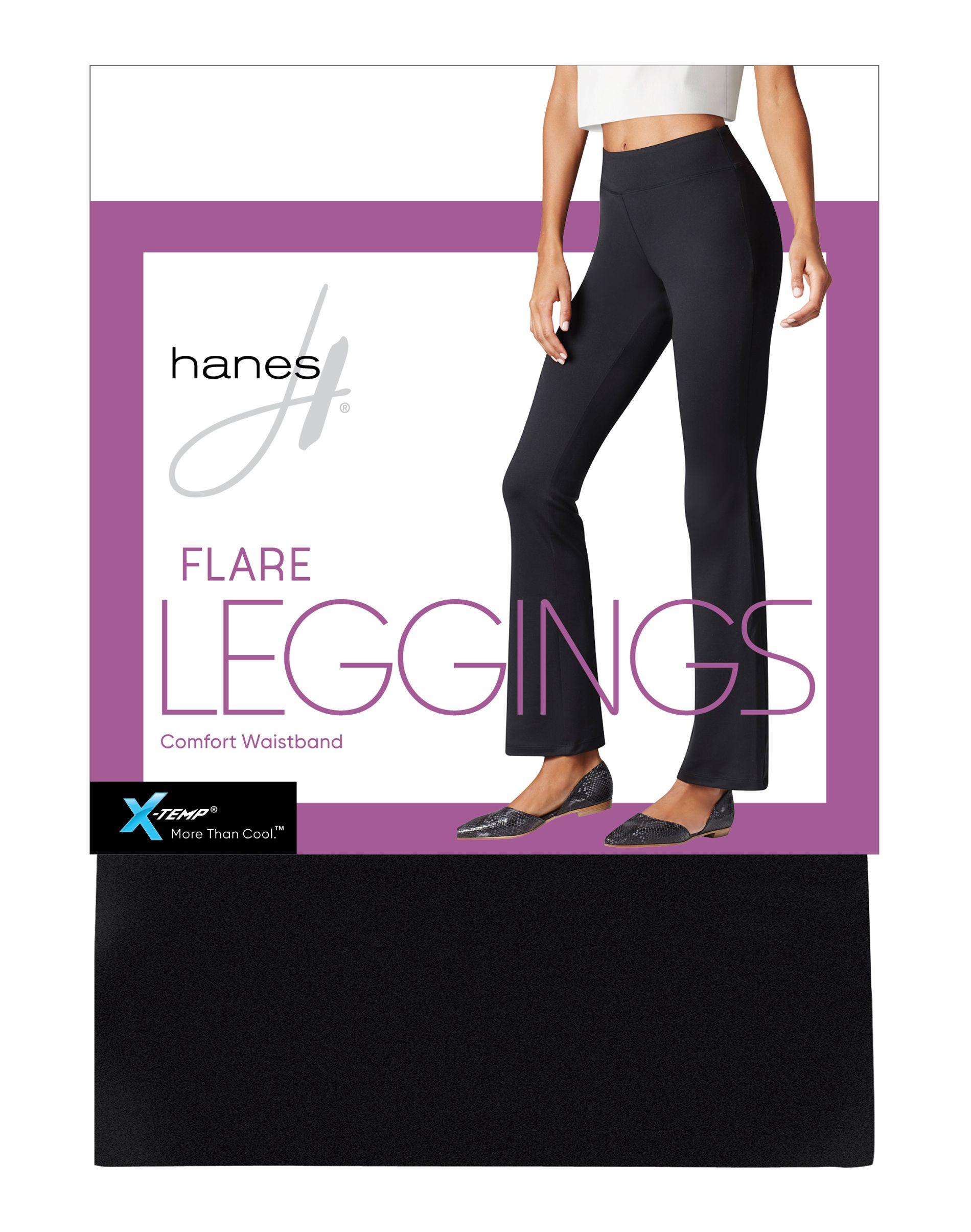hanes flare leggings women Hanes