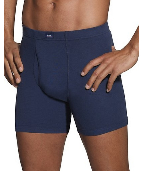 Hanes Classics Men's Dyed Boxer Briefs with ComfortSoft® Waistband 5-Pack men Hanes