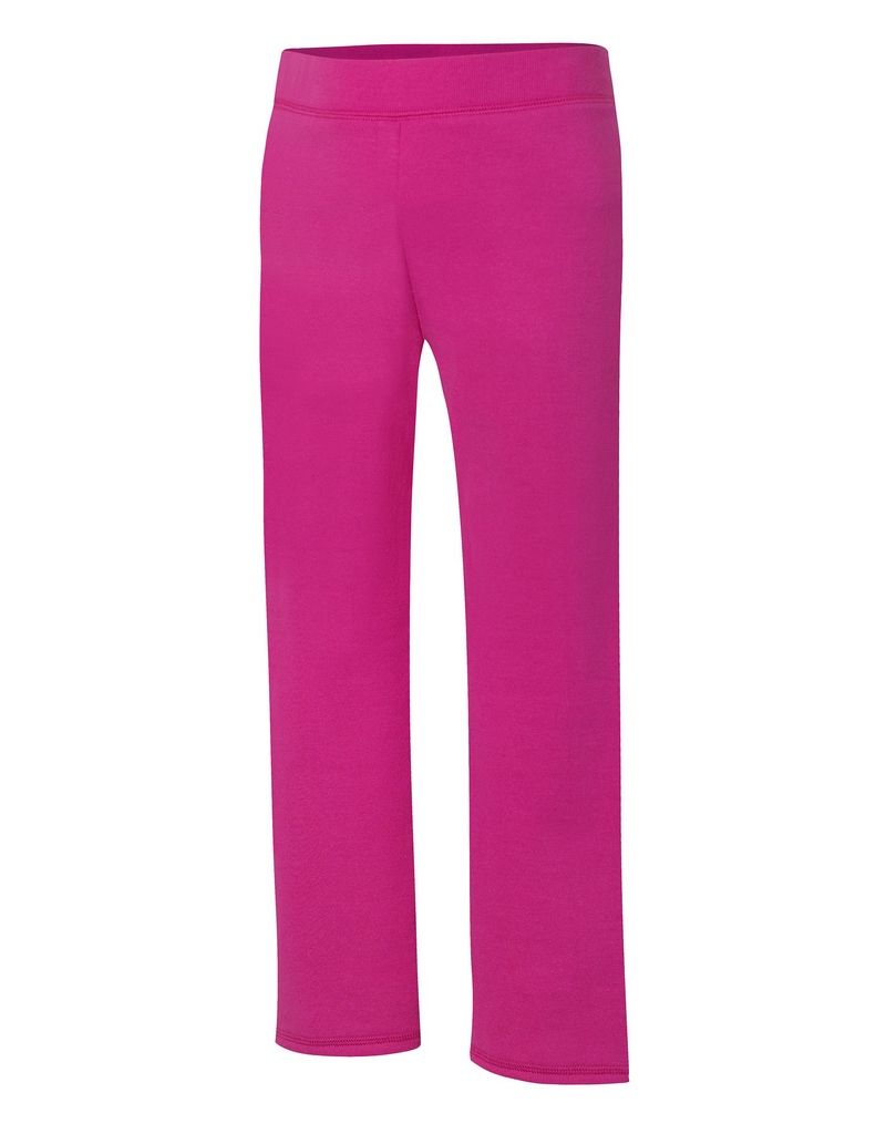 Hanes ComfortSoft™ EcoSmart® Girls' Open Leg Sweatpants youth Hanes