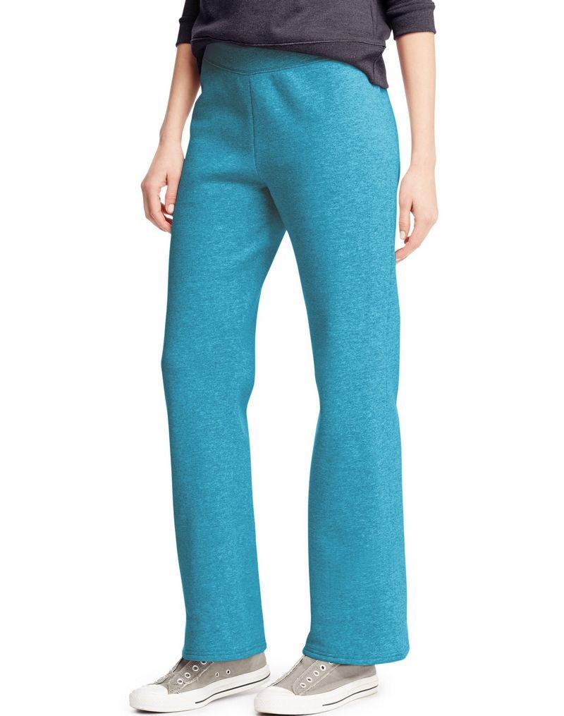 Hanes ComfortSoft™ EcoSmart® Women's Petite Open Leg Sweatpants women Hanes
