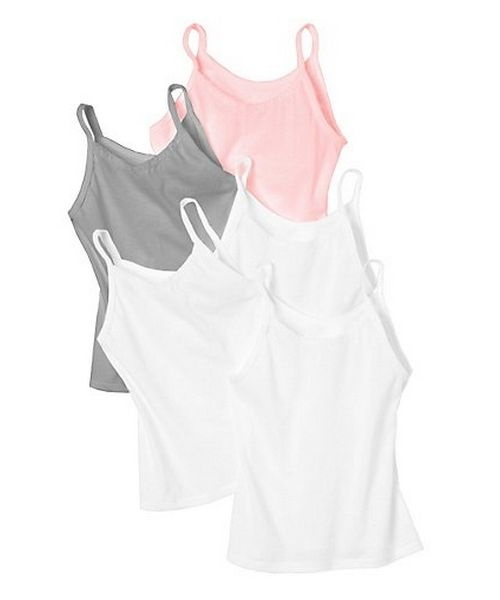 Hanes Girls' Cami 5-Pack youth Hanes