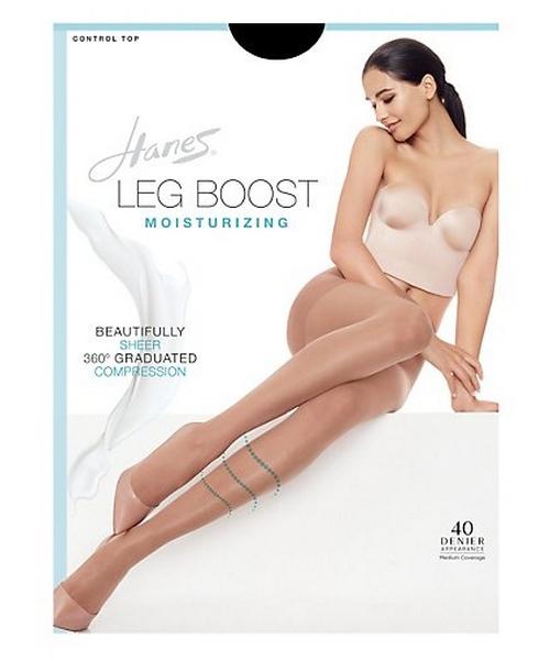 Hanes Silk Reflections Leg Boost Moisturizing Hosiery women Hanes
