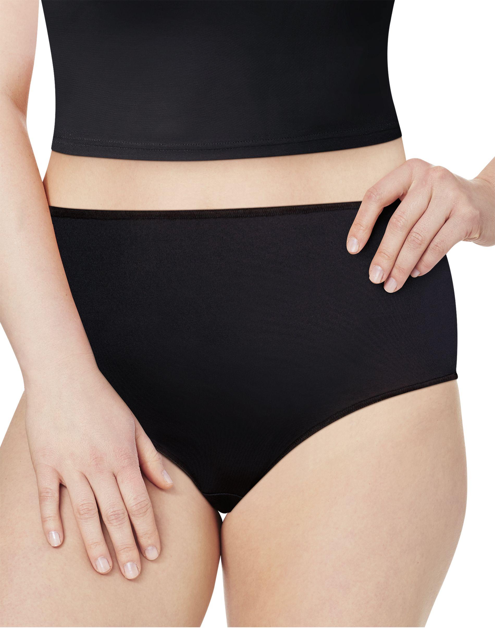 JMS Cool Comfort® Microfiber Briefs, 6-Pack women Just My Size
