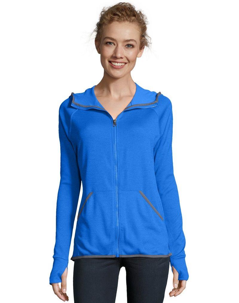 Hanes Sport™ Women's Performance Fleece Zip Up Hoodie women Hanes