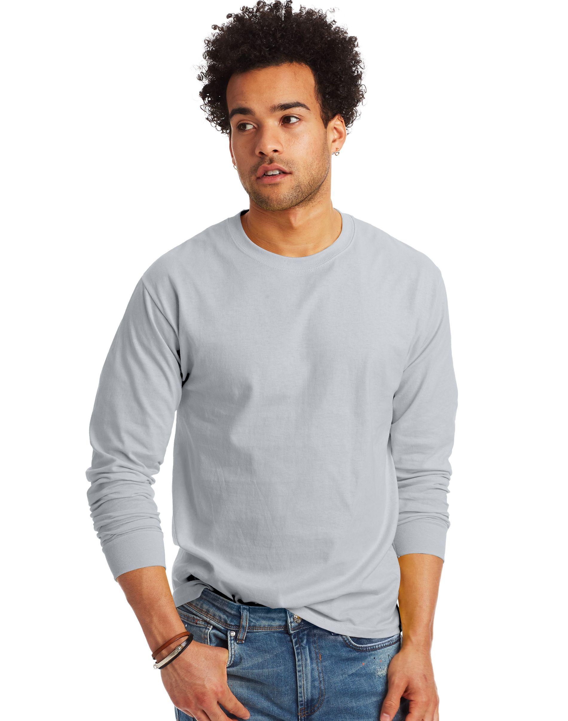Hanes TAGLESS® Long-Sleeve T-Shirt men Hanes